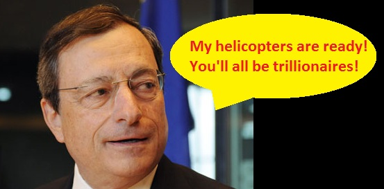 ECB 'Bazooka' Reloaded Until At Least December 2017 - Euro Gold Rises 1%; 13% YTD